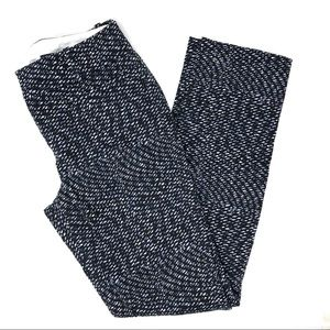 Calvin Klein Black Printed Skinny Pants